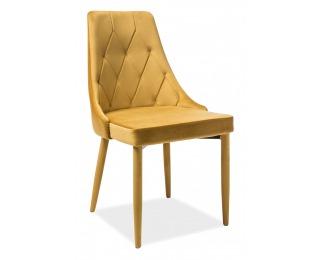 Jedálenská stolička Trix Velvet - kari
