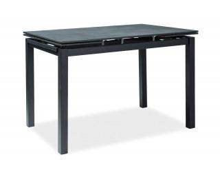 Rozkladací jedálenský stôl Turin - čierna