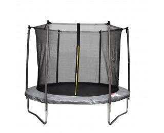 Trampolína Skyper 183 cm - čierna / sivá