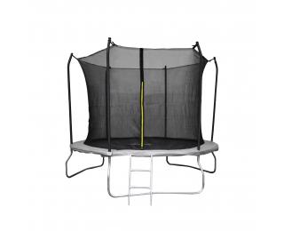Trampolína Skyper 305 cm - čierna / sivá