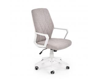Kancelárska stolička s podrúčkami Spin 2 - béžová / biela
