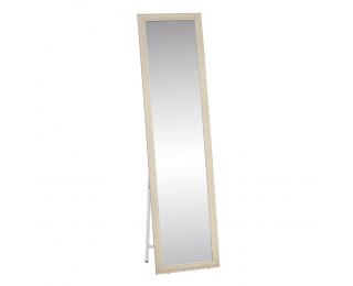 Stojace zrkadlo Asuel - béžová / biela