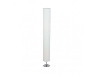 Stojacia lampa Qenny Typ 21 - biela / chróm