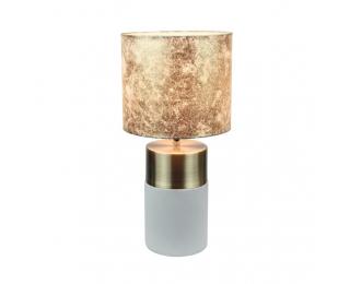 Stolná lampa Qenny Typ 18 - hnedá / svetlosivá