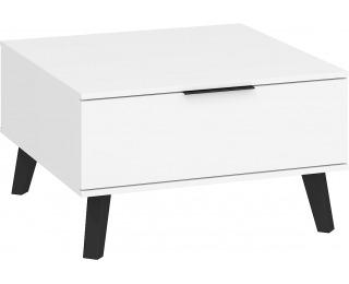 Konferenčný stolík Sven SVN-06 - biela / biely lesk