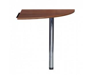 Rohová stolová spojka Mag Euro 28 - orech
