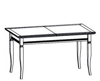 be4d7ea81fa2 Rustikálny rozkladací jedálenský stôl Neptun CC-1 - nový orech