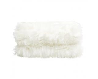 Kožušinová deka Ebona Typ 1 150x180 cm - biela