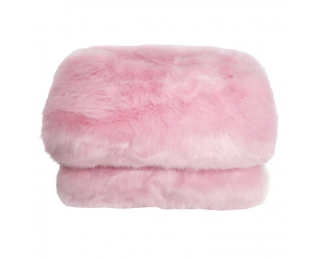 Kožušinová deka Ebona Typ 7 150x170 cm - ružová