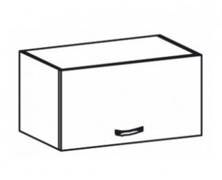 Horná kuchynská skrinka Royal G60KN - biela sosna nordická / dub divoký