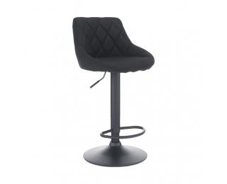 Barová stolička Terkan - čierna