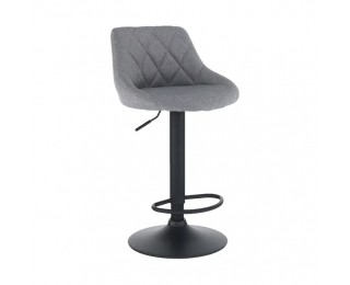 Barová stolička Terkan - sivá / čierna