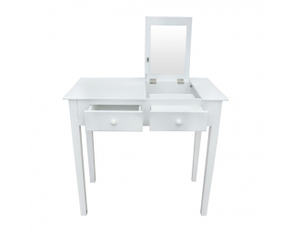 Toaletný stolík Luzia - biela