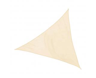 Tieniaca plachta Triangle 300x300 cm - béžová