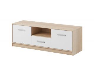 TV stolík Tulia - dub sonoma / biela