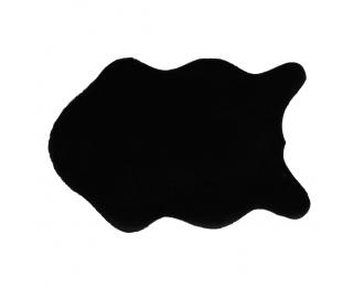 Umelá kožušina Rabit New Typ 1 60x90 cm - čierna