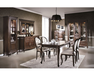 Rustikálna jedáleň Verona - hnedá
