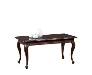 Rustikálny rozkladací jedálenský stôl Verona V-3 - hnedá