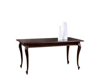 Rustikálny rozkladací jedálenský stôl Verona V-4 - hnedá