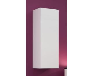 Skrinka na stenu Vigo 90 - biela / biely lesk
