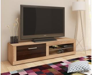 TV stolík Viki New - sonoma svetlá / sonoma tmavá