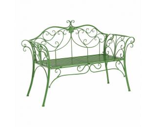 Záhradná lavička Etelia - zelená