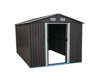 Plechový záhradný domček Toolster 312x257x202 cm - sivá