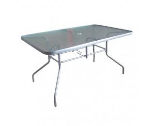 Záhradný stôl Demat New - strieborná
