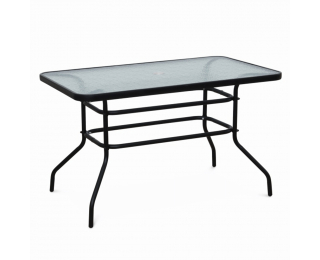 Záhradný stôl Demat New - čierna