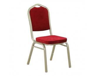 Konferenčná stolička Zina 2 New - bordová / champagne