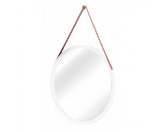 Zrkadlo na stenu Lemi 1 - biela