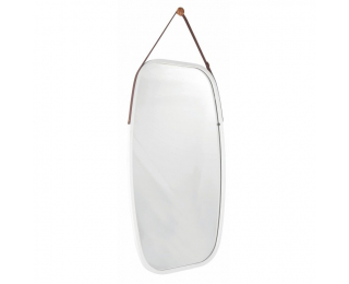 Zrkadlo na stenu Lemi 3 - biela