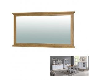 Zrkadlo na stenu Leon MZ16 - biela / dub grand