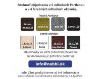 Taburetka s úložným priestorom Rosana - svetlohnedá / čokoládová