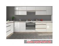 Horná kuchynská skrinka Line White G20 - biely vysoký lesk