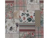 Kreslo Charlot - vzor patchwork Viorica 1