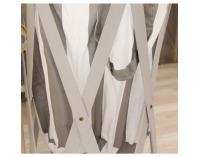 Kôš na prádlo Dzimbo 4 - biela / potlač