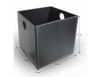 Úložný box Tofi-Lexo - čierna