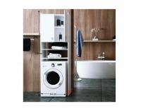 Skrinka nad práčku Natali - biela