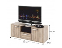 TV stolík Dunaj Typ 10 - dub sonoma