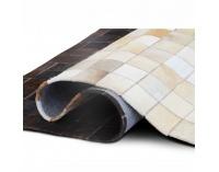 Kožený koberec Typ 7 200x300 cm - vzor patchwork