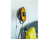 Stojacia lampa Jade Typ 6 - čierna / zlatá