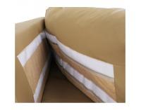 Kožená rohová sedačka s rozkladom Vaco L - karamelová