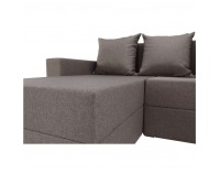 Rohová sedačka s rozkladom a úložným priestorom Tobias L/P - cappuccino