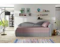 Rozkladacia pohovka Arco P - ružová / sivá