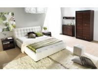 Čalúnená manželská posteľ Forrest 180 - béžová