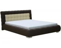 Čalúnená manželská posteľ Forrest 160 - hnedá