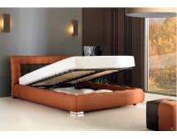Čalúnená manželská posteľ Forrest 160 - béžová