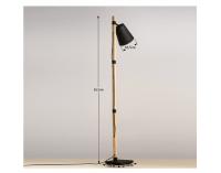 Stojacia lampa Cinda Typ 4 YF6048 - bronzová / čierna