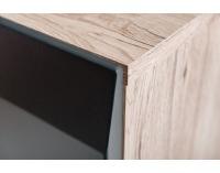 Obývacia stena Clif - dub san remo / grafit